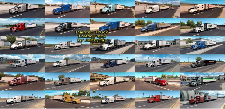 ATS - Coast To Coast Map - Not Wa Dlc V2 8 1 (1 35 x