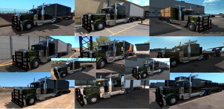 ATS - Bitrain First Trailer Ownable (1 35 x) | Truck Simulator Mods