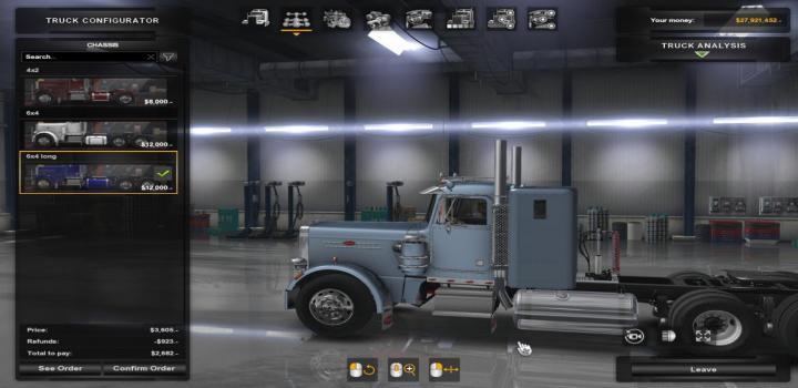 ATS - Kenworth K100 Coe Ats V1 31 2S | Truck Simulator Mods