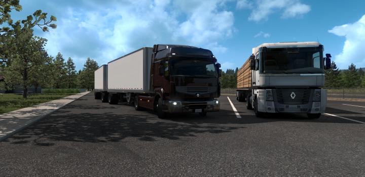 Photo of ATS – Renault Trucks V1.0 (1.35.x)