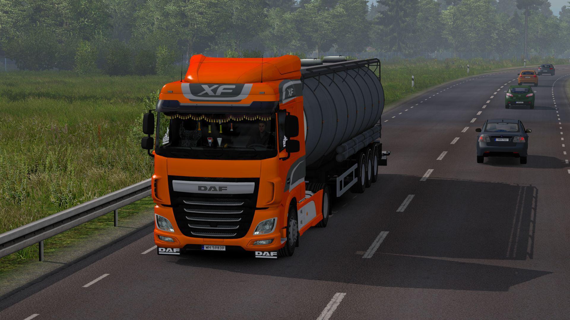 ETS2 - Daf Xf Euro 6 V2 9 (1 35 x) | Truck Simulator Mods