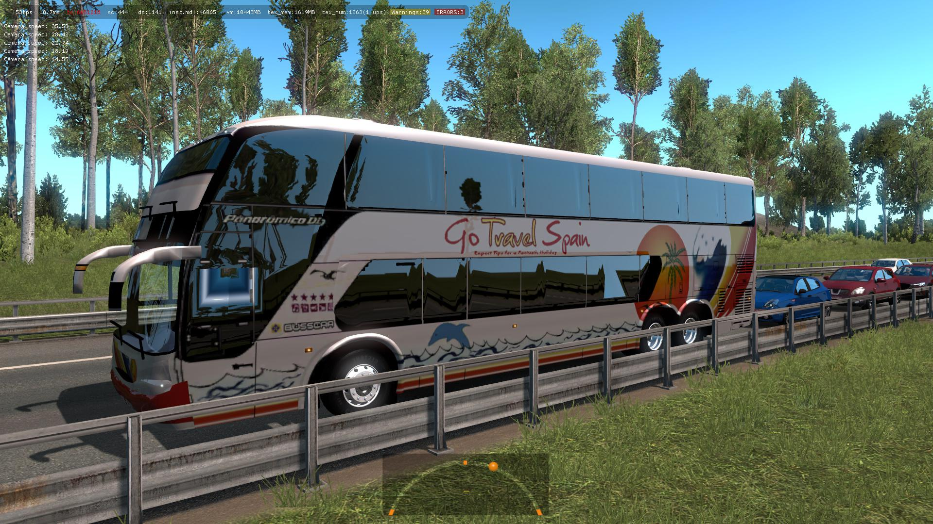ETS2 - Buses Of Argentinean Companies In Traffic Mod (1 35 x