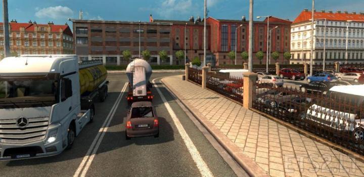 ETS2 - Poland Detail Adding Mod (1 35 x) | Truck Simulator Mods Download