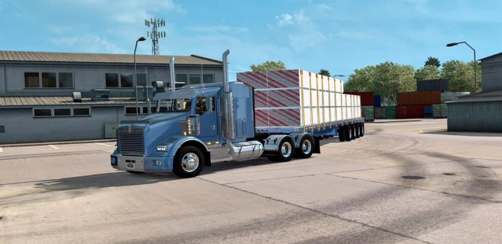 Photo of ATS – Ownable Doepker Flatbed Trailer V1.0 (1.35.x)