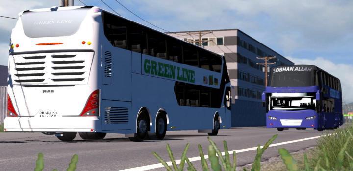 ETS2 - Bus Traffic Pack V7 7 (1 35 x) | Truck Simulator Mods