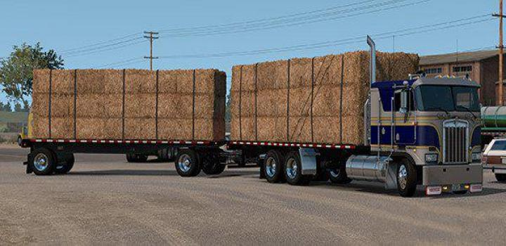 Photo of ATS – K100E Truck And Trailer Add-On V1.0 (1.36.x)