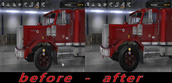 Photo of ATS – Large Tires V1.0 (1.36.x)
