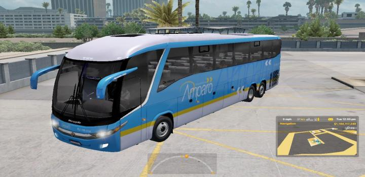 Photo of ATS – Marcopolo G7 1200 Facelift + Passengers V2.3 (1.36.x)