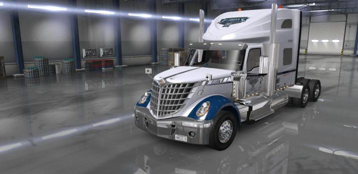 Photo of ATS – Uncle D Logistics Vtc Lone Star Sky Rise Sleeper Skin (1.36.x)