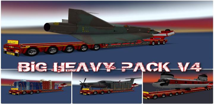Photo of ETS2 – Big Heavy Pack V4 (1.36.x)
