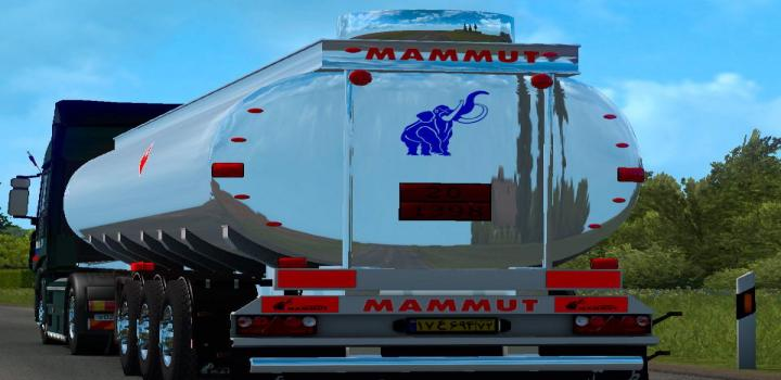 Photo of ETS2 – Tank Mammut Tanker Steel V1.0 In Ownership (1.36.x)