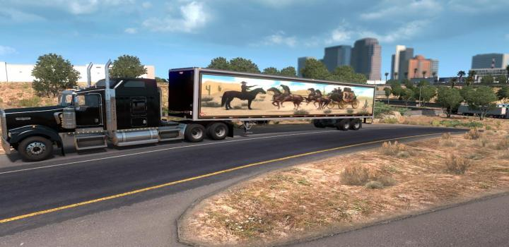 Photo of ATS – Smoky And The Bandit Trailer V1.0 (1.36.x)
