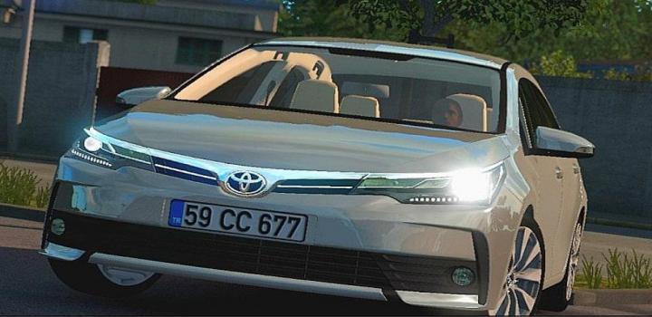Photo of ATS – Toyota Corolla 2018 V1.1 (1.36.x)