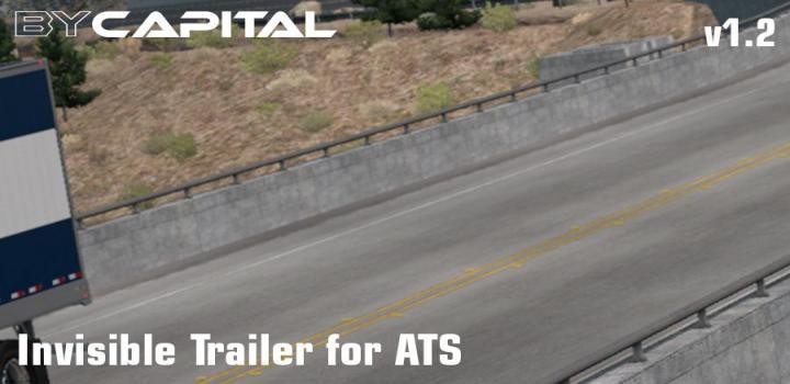 Photo of ATS – Invisible Trailer V1.2 (1.36.x)