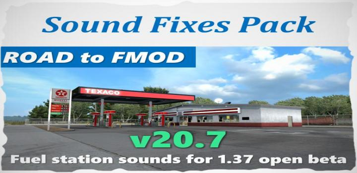 Photo of ATS – Sound Fixes Pack V20.7 (1.37.x)