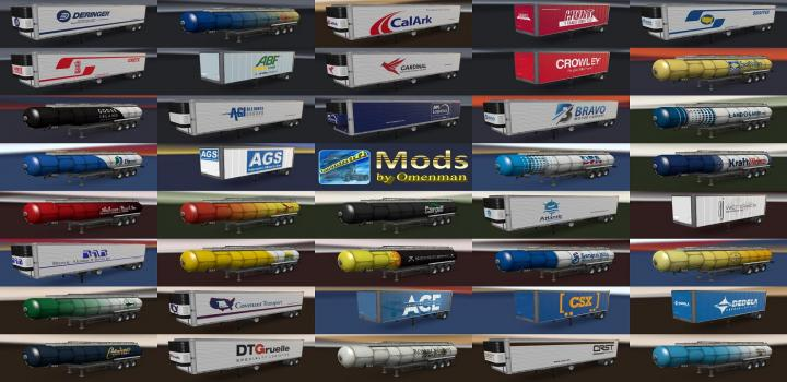 Photo of ATS – Trailer Pack V3.25.1 (1.36.x)