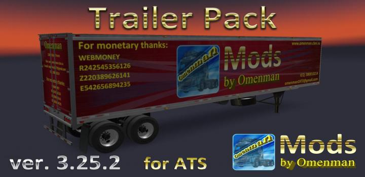 Photo of ATS – Trailer Pack V3.25.2 (1.36.x)