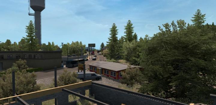 Photo of ATS – West Wind Map V1.0 (1.36.x)
