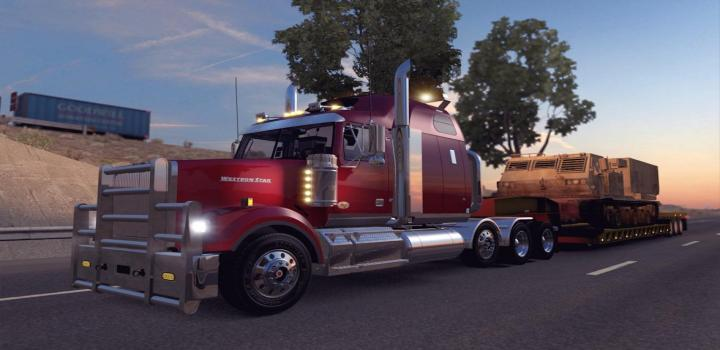 Photo of ATS – Western Star 4900Fa V1.3 (1.36.x)