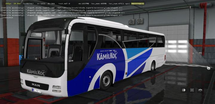 Photo of ETS2 – Man Lions Coach E6 V2.5 (1.36.x)