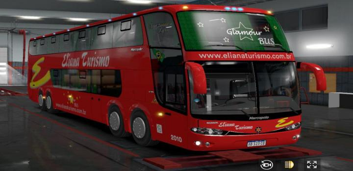 Photo of ETS2 – Marcopolo Paradiso G6 Dd 8X2 V4 (1.36.x)