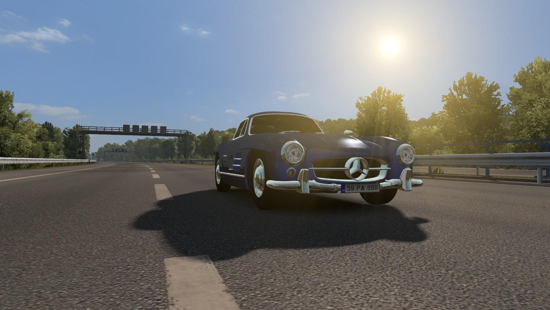 Photo of ETS2 – Mercedes Benz 300Sl (1.36.x)