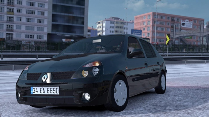 Photo of ETS2 – Renault Clio 2 V1R20 (1.36.x)