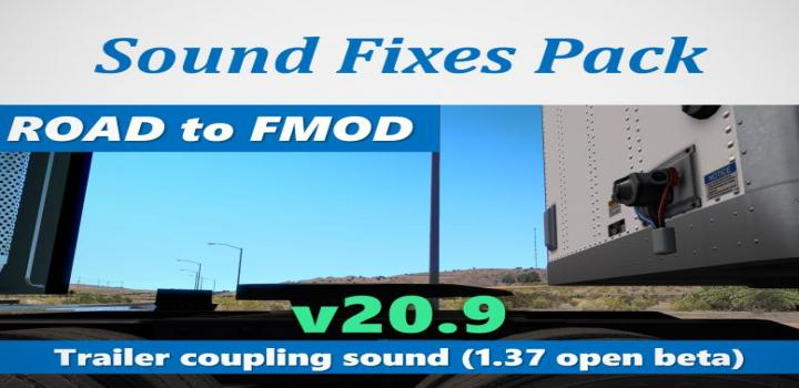 Photo of ATS – Sound Fixes Pack V20.9 (1.37.x)
