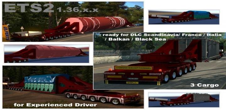 Photo of ETS2 – Doll Trailer With Vessel Bridge 6 And 6 Axles (1.36.x)