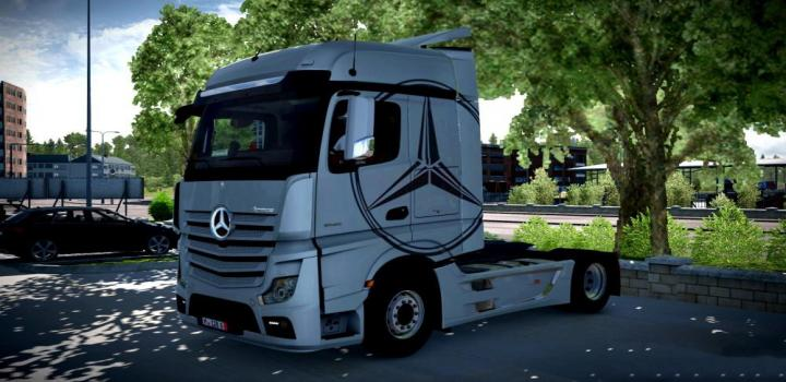 Photo of ETS2 – New Actros Mp4 Sound V1.1 (1.36.x)