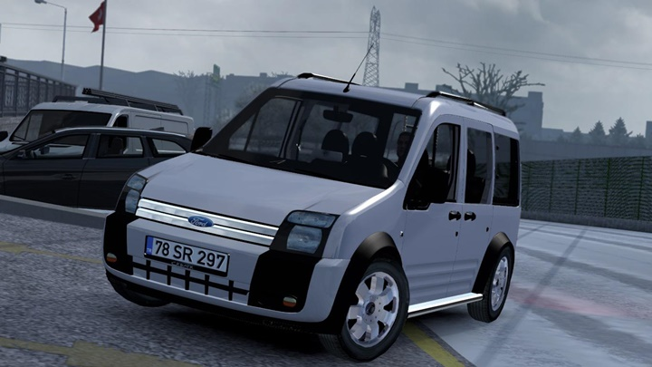 Photo of ETS2 – Ford Transit Connect V1R20 (1.36.x)