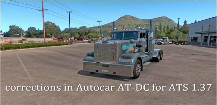 Photo of ATS – Corrections In Autocar At-Dc (1.37.x)