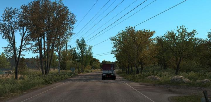 Photo of ATS – Spring Graphics/Weather V1.0 (1.37.x)