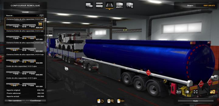 Photo of ETS2 – Combined Tank Trailer Owned V1.0 (1.37.x)