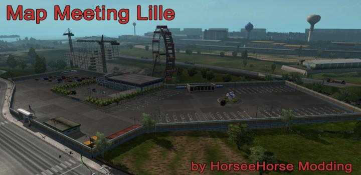 Photo of ETS2 – Meeting At Lille Map (1.36.x)