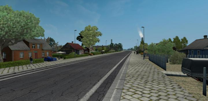 Photo of ETS2 – Road To Aral V1.2B (1.36.x)