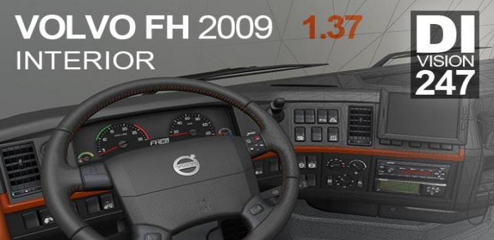 Photo of ETS2 – Volvo Fh 2009 Interior 12.04.20 (1.37.x)