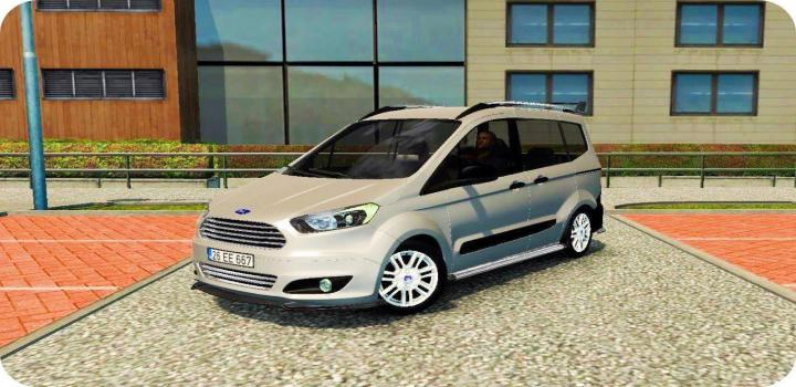 Photo of ATS – Ford Tourneo Courier V1.2 (1.37.x)