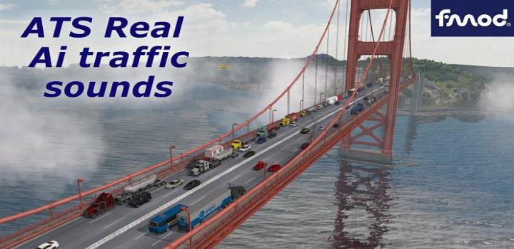 Photo of ATS – Real Ai Traffic Engine Sounds For Scs V1.37.B (1.37.x)