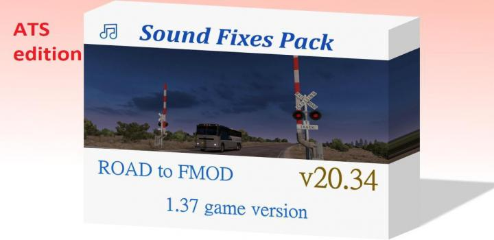 Photo of ATS – Sound Fixes Package V20.34 (1.37.x)