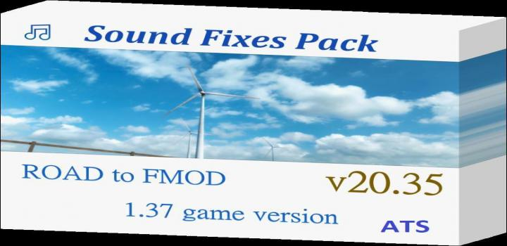Photo of ATS – Sound Fixes Pack V20.35 (1.37.x)