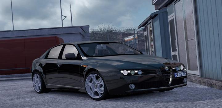 Photo of ETS2 – Alfa Romeo 159 V1R30 (1.37.x)