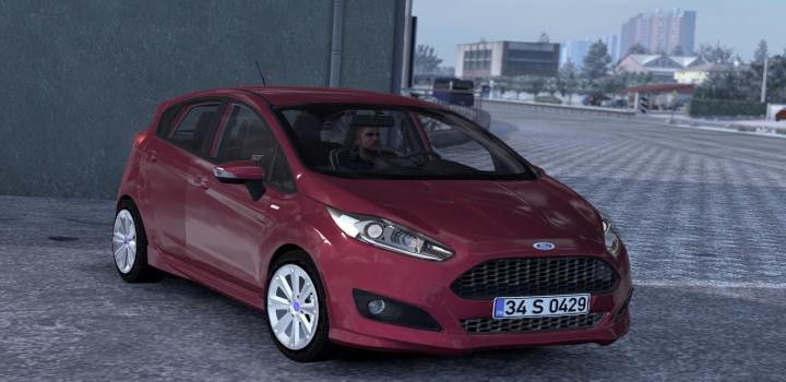 Photo of ETS2 – Ford Fiesta St & St Line V1R30 (1.37.x)