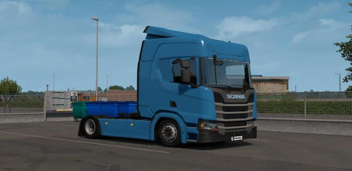 Photo of ETS2 – Low Deck Chassis Addon For Eugene Scania Ng By Sogard3 V1.4 (1.37.x)