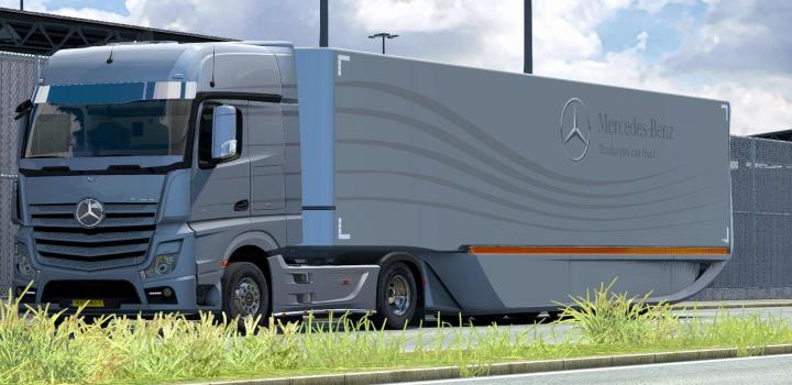 Photo of ETS2 – Mb Aerodynamic Trailer V1.1 (1.37.x)