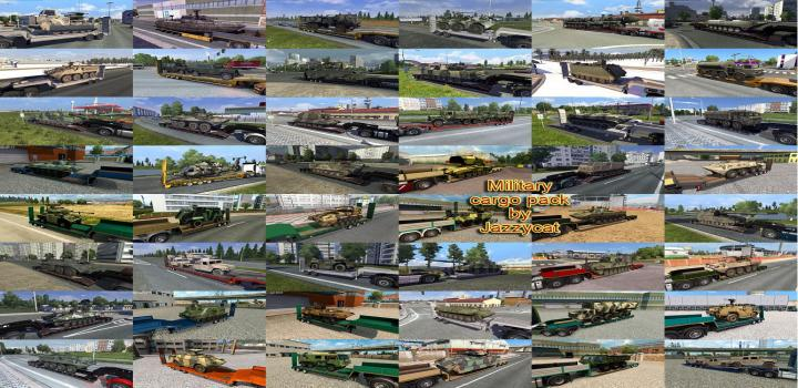 Photo of ETS2 – Military Cargo Pack V4.3.1 (1.37.x)