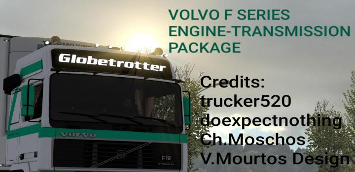 Photo of ETS2 – Volvo F Series Engine-Transmission Package V1.0 (1.37.x)