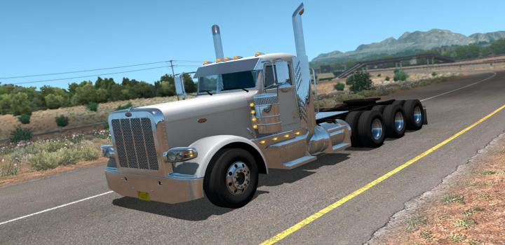 Photo of ATS – Peterbilt 389 8X6 Chassis V1.1.2 (1.37.x)