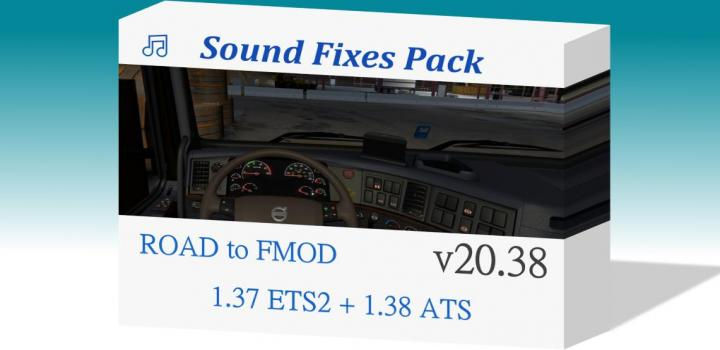 Photo of ATS – Sound Fixes Pack V20.38 (1.38.x)