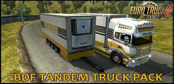 Photo of ETS2 – Bdf Tandem Truck Package V137.28 (1.37.x)